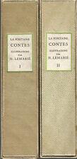 Contes de La Fontaine illustré par Henry Lemarié