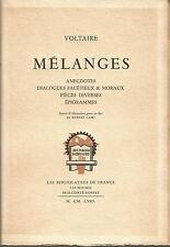 Voltaire, Mélanges, Les Bibliolâtres de France