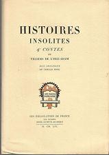 Villiers de L'Isle-Adam, Histoires insolites & Contes, Bois originaux de C. Berg