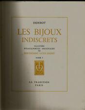 Diderot, Les Bijoux indiscrets, eaux-fortes de Berthommé Saint-André