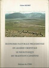 Économie pastorale préagricole en Algérie orientale