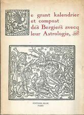 Le grand kalendrier et compost des Bergiers avecq leur Astrologie