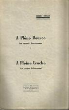 Hubert-Rouger, A Pléno Dourco, Set raconté Couvissounen
