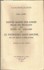 Sainte-Marie-des-Anges, Eglise des Récollets, dite Eglise du Calvaire Toulouse