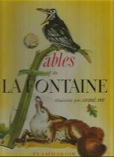 La Fontaine, Fables illustrées par André Pec