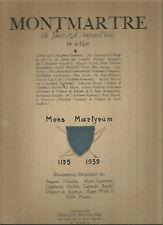 Montmartre (de jadis et d'aujourd'hui) en Alger (illustrés modernes et Paris)