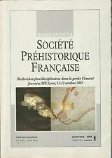 Bulletin de la Société Préhistorique Française Jan.-Mar. 2005 Tome 102 numéro 1