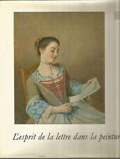 L'esprit de la lettre dans la peinture, Jean Leymarie, Skira