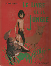 Kipling Le livre de la jungle Le second livre de la jungle 2 volumes illustrés
