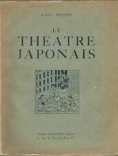 Albert Maybon Le théâtre japonais 64 planches 40 dessins