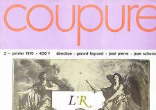 Surréalisme Coupure n° 2 Janvier 1970