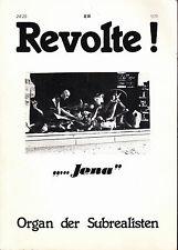 Revolte! n° 24/25 Organ der Subrealisten