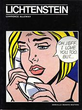Lichtenstein Laurence Alloway Pop Art