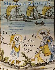Faïences étrangères, françaises, collection de bénitiers, porcelaines