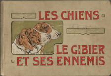 Chasse, Les chiens, le gibier et ses ennemis, illustrations de Mahler