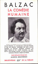 Balzac La Comédie humaine Tome I Bibliothèque de La Pléiade