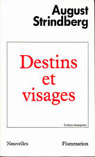 August Strindberg Destins et Visages Nouvelles