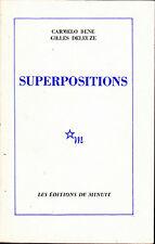 Carmelo Beno Gilles Deleuze Superpositions 1979