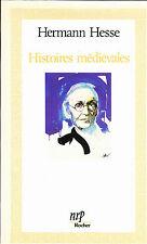 Hermann Hesse Histoires médiévales