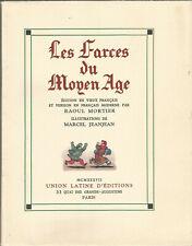 Les Farces du Moyen Âge, illustrations de Marcel Jeanjean