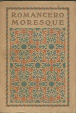Romancero moresque, traduction de Alexandre Arnoux