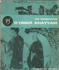 Les roubaïates d'Omar Khayyam