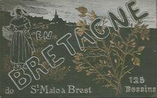 20 jours en Bretagne de Saint-Malo à Brest 125 dessins d'après nature