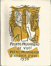 Poètes provençaux d'aujourd'hui bilingue édition originale numérotée