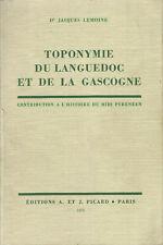 Toponymie du Languedoc et de la Gascogne
