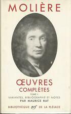 Molière, Oeuvres complètes, tome 2, Bibliothèque de La Pléiade