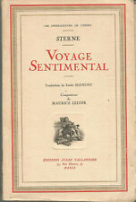 Sterne, Voyage sentimental, compositions de Maurice Leloir