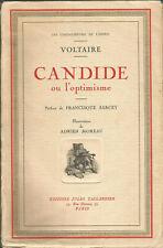 Voltaire, Candide ou l'optimisme, illustrations de Adrien Moreau