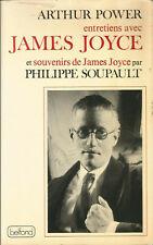 Entretiens avec James Joyce et souvenirs de James Joyce par Philippe Soupault