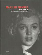 Marilyn Monroe, Fragments, poèmes, écrits intimes, lettres