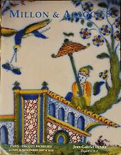 Catalogue Millon, Faïences et porcelaines françaises et étrangères, 26/11/2007
