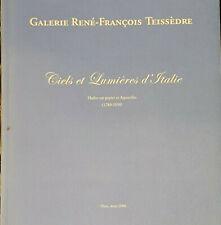 Galerie René-François Teissèdre, Ciels et lumières d'Italie (1780-1850)