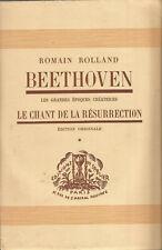 Romain Rolland, Beethoven, Le chant de la résurrection 1 et 2 édition originale