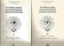 Jean-Pierre Bayard, Symbolisme maçonnique traditionnel, tomes 1 et 2