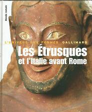 L'Univers des formes, Les Étrusques et l'Italie avant Rome