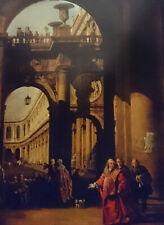 Bernardo Bellotto, Architectural Capriccio with a Self-portrait