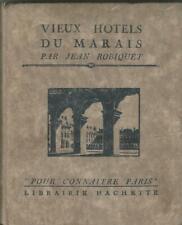 Vieux hôtels du Marais, Robiquet, envoi autographe signé à la comtesse d'Andigné