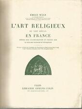 L'art religieux du XIIIe siècle en France, Emile Mâle