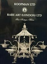 Koopman, Rare Art (London) Fine Antique Silver March 2003