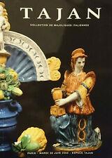 Collection de majoliques italiennes Tajan Vente du 30 juin 2009