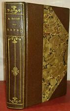 Alphonse Daudet, Sapho, Lemerre, 1886, agréablement relié