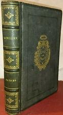 Schiller, Poésies, traduction nouvelle par A D Régnier Hachette, 1873,