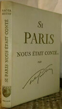 Si Paris m'était conté, par Sacha Guitry, Solar, collection Histoires de France