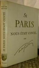 Si Paris m'était conté, par Sacha Guitry, Solar, collection Histoires de France