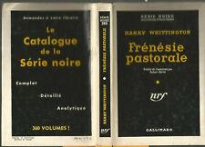 Harry Whittington, Frénésie pastorale, 1957, série noire cartonnée avec jaquette