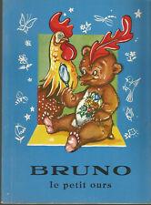 Livre pour enfants, Bruno le petit ours